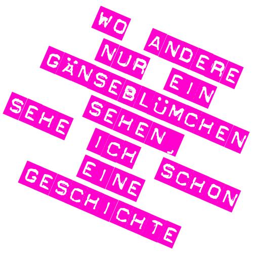 claim auf deutsch